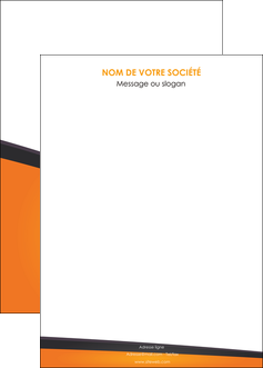 modele en ligne affiche orange fond orange colore MIF57665