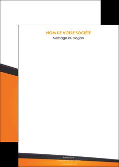 modele en ligne affiche orange fond orange colore MLGI57665