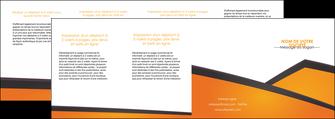 faire modele a imprimer depliant 4 volets  8 pages  orange fond orange colore MLGI57669