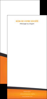 exemple flyers orange fond orange colore MLGI57671