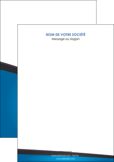 creer modele en ligne flyers bleu fond bleu couleurs froides MLIG57847
