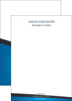 impression flyers bleu fond bleu couleurs froides MLIG57849