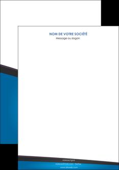 modele en ligne affiche bleu fond bleu couleurs froides MIF57851