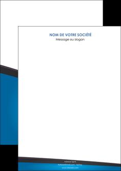 maquette en ligne a personnaliser affiche bleu fond bleu couleurs froides MIF57853