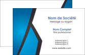 personnaliser maquette carte de visite bleu fond bleu couleurs froides MLIP57857