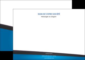 modele en ligne affiche bleu fond bleu couleurs froides MIF57867