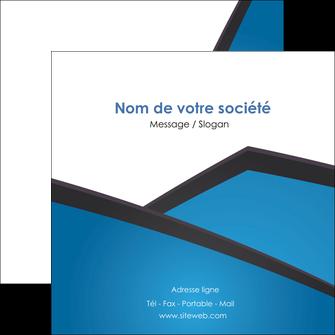 faire modele a imprimer flyers bleu fond bleu couleurs froides MIF57881