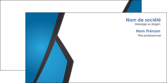 creer modele en ligne enveloppe bleu fond bleu couleurs froides MLIG57885