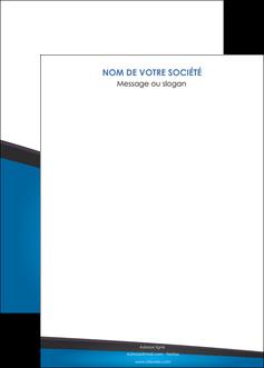 creation graphique en ligne affiche bleu fond bleu couleurs froides MIF57891