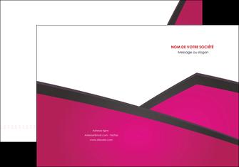 creer modele en ligne pochette a rabat fuchsia gris fond fuchsia MIF57911