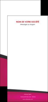 impression flyers fuchsia gris fond fuchsia MIF57949