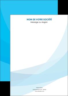 creer modele en ligne affiche web design bleu bleu pastel couleurs froides MIF57953
