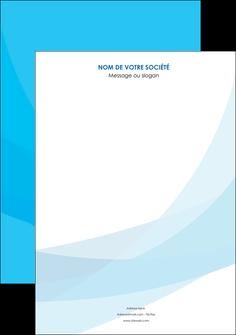 imprimer affiche web design bleu bleu pastel couleurs froides MLGI57955