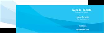 faire carte de visite web design bleu bleu pastel couleurs froides MLGI57959