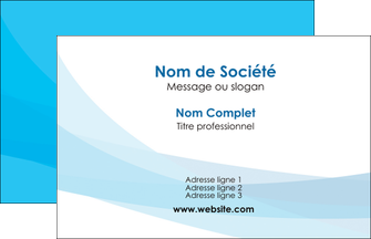exemple carte de visite web design bleu bleu pastel couleurs froides MIF57961