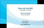 exemple carte de visite web design bleu bleu pastel couleurs froides MLIP57961