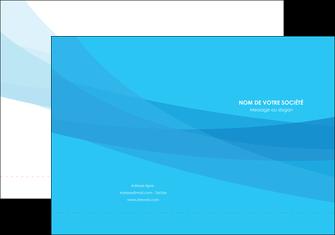 modele pochette a rabat web design bleu bleu pastel couleurs froides MLGI57965