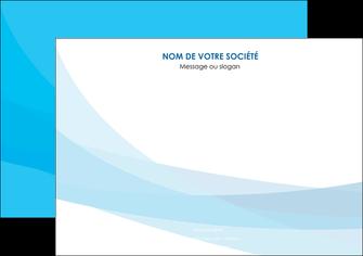 imprimer affiche web design bleu bleu pastel couleurs froides MIF57969