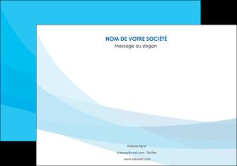 faire modele a imprimer affiche web design bleu bleu pastel couleurs froides MIF57971