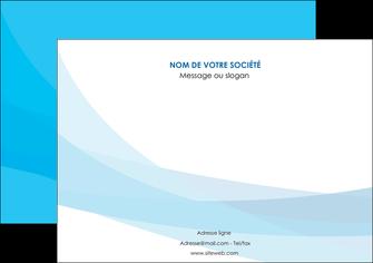 creer modele en ligne affiche web design bleu bleu pastel couleurs froides MIF57975