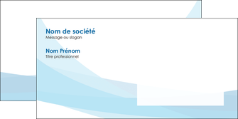 creer modele en ligne enveloppe web design bleu bleu pastel couleurs froides MIF57989