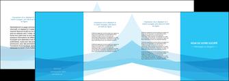 faire modele a imprimer depliant 4 volets  8 pages  web design bleu bleu pastel couleurs froides MIF57993