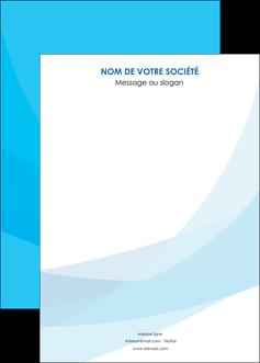 faire modele a imprimer affiche web design bleu bleu pastel couleurs froides MIF57995