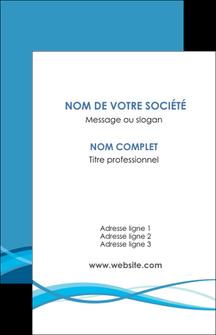 imprimerie carte de visite bleu couleurs froides fond bleu MIF58125