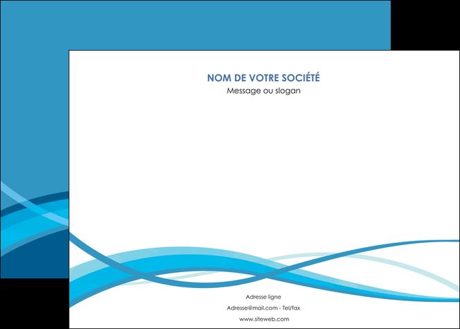creation graphique en ligne affiche bleu couleurs froides fond bleu MLGI58135