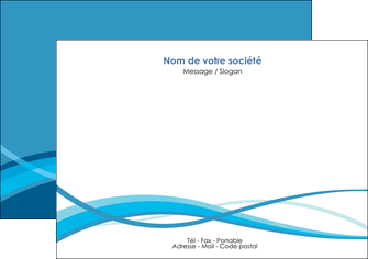 modele en ligne flyers bleu couleurs froides fond bleu MIF58139
