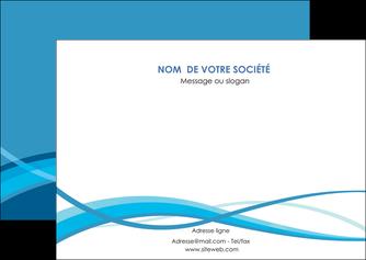 creation graphique en ligne flyers bleu couleurs froides fond bleu MIF58143