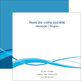 imprimerie flyers bleu couleurs froides fond bleu MIF58147