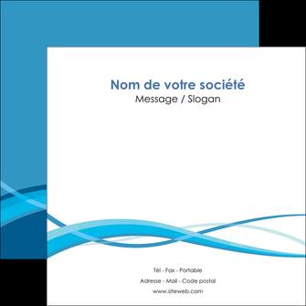 imprimerie flyers bleu couleurs froides fond bleu MLGI58147