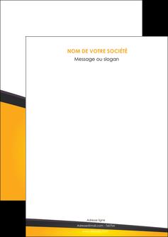 modele flyers jaune fond jaune colore MIF58283