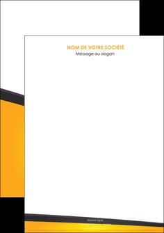 maquette en ligne a personnaliser affiche jaune fond jaune colore MLGI58287