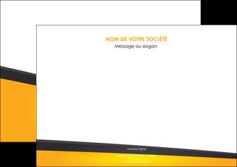 personnaliser modele de affiche jaune fond jaune colore MLIG58301