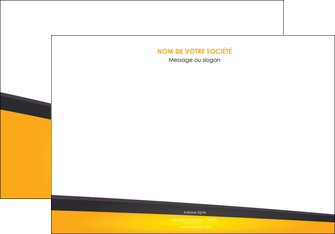 impression affiche jaune fond jaune colore MIF58303