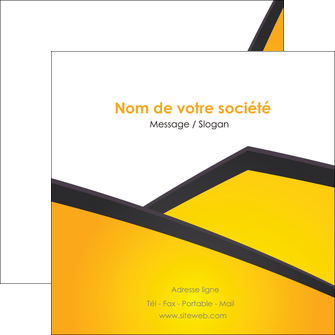 faire flyers jaune fond jaune colore MIF58315