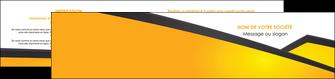 personnaliser maquette depliant 2 volets  4 pages  jaune fond jaune colore MLIG58317