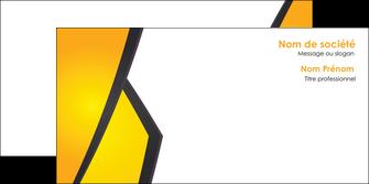creer modele en ligne enveloppe jaune fond jaune colore MIF58319