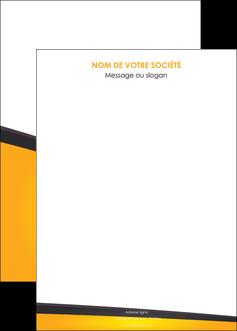 imprimerie affiche jaune fond jaune colore MIF58325