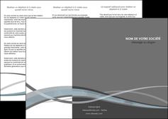 personnaliser maquette depliant 3 volets  6 pages  gris fond gris vecteur MLGI58367