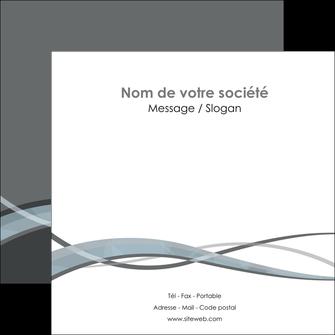 personnaliser modele de flyers gris fond gris vecteur MIF58373