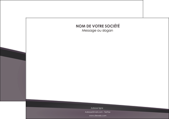 personnaliser maquette affiche violet noir courbes MIF58415