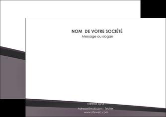 modele en ligne flyers violet noir courbes MLIG58421
