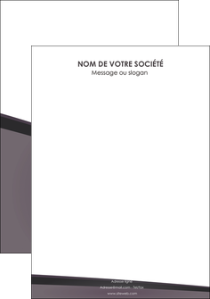 modele en ligne flyers violet noir courbes MLIG58439