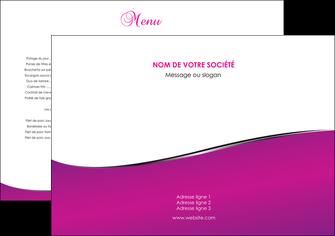 personnaliser modele de set de table violet fond violet colore MLIG58629