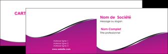 exemple carte de visite violet fond violet colore MLGI58637
