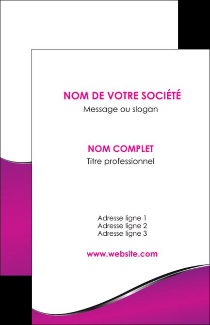 realiser carte de visite violet fond violet colore MIS58639