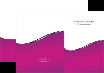 creation graphique en ligne pochette a rabat violet fond violet colore MLIG58641